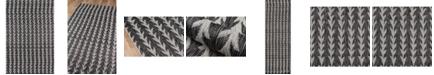 "Novogratz Collection Novogratz Villa Vi-02 Charcoal 5'3"" x 7'6"" Area Rug"