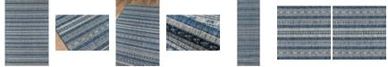 """Novogratz Collection Novogratz Villa Vi-04 Blue 9'3"""" x 12'6"""" Area Rug"""