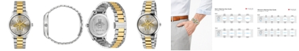 Gucci Unisex G-Timeless Two-Tone Stainless Steel Bracelet Watch 38mm