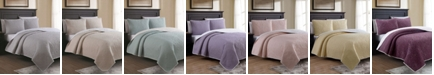 American Home Fashion Estate Marseille Full/Queen 3 Piece Quilt Set