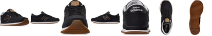 New Balance Men's 501 Canvas Gum Casual Sneakers from Finish Line