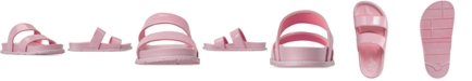 VLADO Little Girls Anna Slide Sandals from Finish Line