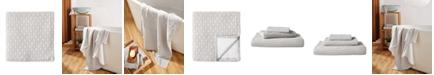 Uchino Wicker Print 100% Cotton Washcloth
