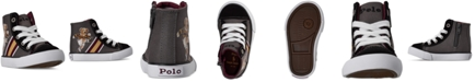Polo Ralph Lauren Toddler Boys Kicker Bear Solomon High Top Casual Sneakers from Finish Line
