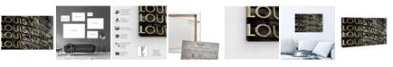 "Oliver Gal Gold Dream Canvas Art, 24"" x 16"""