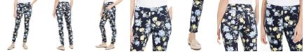 Charter Club Floral Lexington Straight-Leg Jeans, Created For Macy's