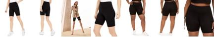 Bar III Bodycon Biker Shorts, Created for Macy's