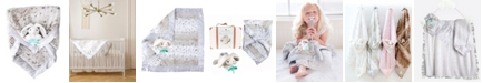 Zalamoon Plush Luxie Pocket Blanket with Pocket and Strap Holder with Razbuddy and Jollypop Pacifier