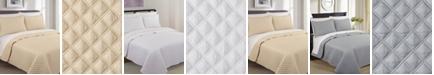 Nouvelle Home Palazzo 3 Piece Cotton King Quilt Set