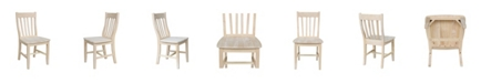 International Concepts Cafe Chairs, Set of 2