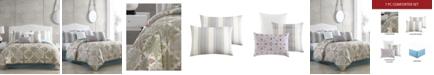 Riverbrook Home Lacy Comforter with 6 Bonus Pieces Set, King