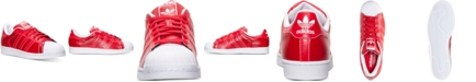 adidas Men's Originals KZK Superstar Leather Casual Sneakers from Finish Line