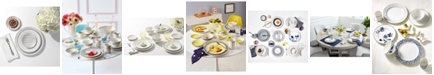 kate spade new york Charlotte Street Grey East Dinnerware Collection