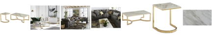 Bernhardt Allura 2-Pc. Table Furniture Set (Coffee Table & End Table)