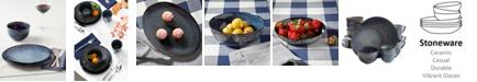 Laurie Gates Matisse Round Blue Dinnerware Collection