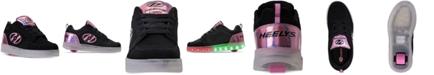 Heelys Heels Big Girls' Premium 1 Lo Light-Up Skate Casual Sneakers from Finish Line