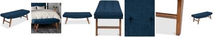 Furniture Nora Bench, Quick Ship