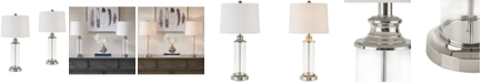 JLA Home JLA Set of 2 Clarity Table Lamps