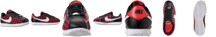 Nike Girls' Cortez Basic Textile SE Casual Sneakers from Finish Line