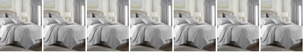 Colcha Linens Cambric Gray Coverlet-King/California King