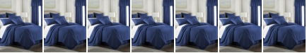 Colcha Linens Cambric Denim Duvet Cover-King