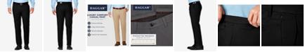 Haggar J.M. Men's Slim-Fit Luxury Comfort Casual Pants