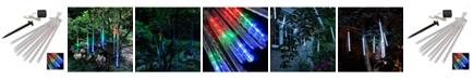 JH Specialties Inc/Lumabase LumaBase 8 Light Solar Meteor Lights