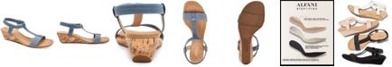 Alfani Women's Step 'N Flex Voyage Wedge Sandals, Created for Macy's