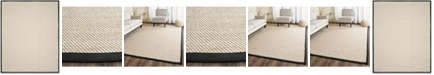 Safavieh Natural Fiber Marble and Black 8' x 10' Sisal Weave Area Rug