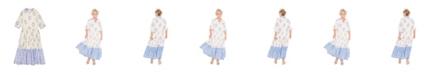 Masala Baby Girls India Dress Ikat Dots