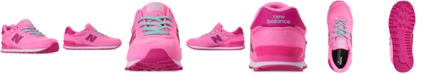 New Balance Girls' 515 Spring Canvas Casual Sneakers from Finish Line