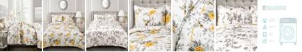 Lush Decor Penrose Floral 3-Pc. King Quilt Set