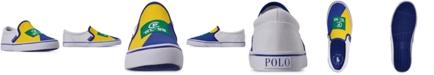 Polo Ralph Lauren Boys' Landyn Slip-On Casual Sneakers from Finish Line