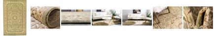 "Bridgeport Home Belvoir Blv2 Light Green 10' 6"" x 16' 5"" Area Rug"