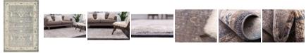Bridgeport Home Bellmere Bel5 Gray 6' x 9' Area Rug