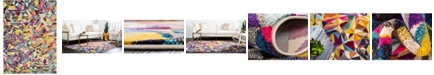 Bridgeport Home Newwolf New1 Multi 8' x 11' Area Rug