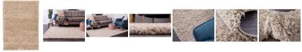Bridgeport Home Exact Shag Exs1 Taupe 2' x 3' Area Rug