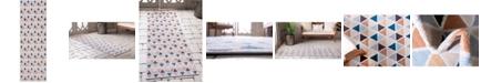"""Bridgeport Home Pashio Pas8 Cream 2' 2"""" x 6' Runner Area Rug"""