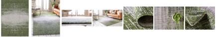 Bridgeport Home Pashio Pas7 Green 9' x 12' Area Rug