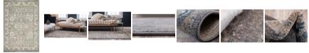 Bridgeport Home Bellmere Bel6 Gray 6' x 9' Area Rug