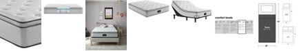 "Beautyrest BR800 13.5"" Plush Pillow Top Mattress- Twin"