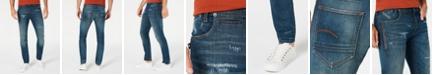 G-Star Raw Men's 3D-Staq Slim-Fit Stretch Jeans