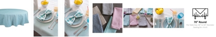 "Design Import Table Cloth 70"" Round"