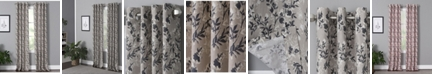 "Windham Weavers Vanessa 50"" x 95"" Floral Curtain Panel"