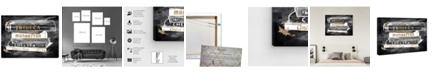 "Oliver Gal Glam Boroughs Canvas Art, 30"" x 36"""