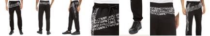 Just Cavalli Men's Logo Mania Sweatpants