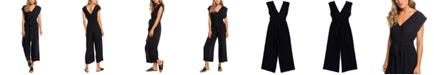 Roxy Juniors' Same Old Blues Belted Jumpsuit