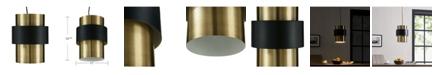 Southern Enterprises Tristan Metal Pendant Light