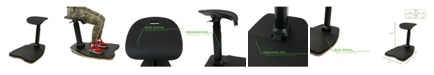 Mind Reader Ergonomic Standing Mat with Seat Included