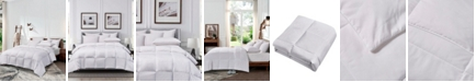 Cannon Microfiber Light Warmth White Goose Feather and Down Fiber Comforter